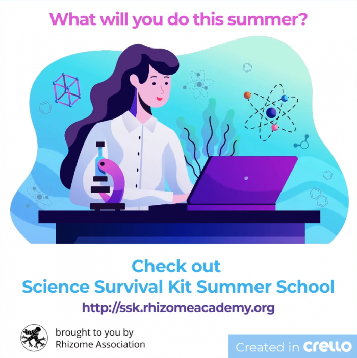 check out Science Survival Kit Summer School